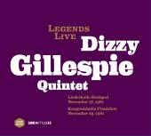 Album artwork for Dizzie Gillespie: Legends Live