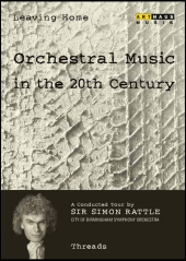Album artwork for ORCHESTRAL MUSIC IN THE 20TH CENTURY: THREADS
