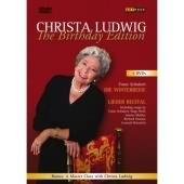 Album artwork for Christa Ludwig - The Birthday Edition (2 DVD set)