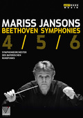 Album artwork for Beethoven: Symphonies Nos. 4, 5 and 6