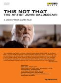 Album artwork for This is not That - The Artist John Baldessari
