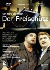 Album artwork for Weber: Der Freischutz (Harnoncourt)