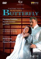 Album artwork for Puccini: Madama Butterfly / Cedolins, Oren
