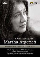 Album artwork for A Piano Evening with Martha Argerich