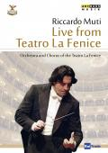Album artwork for Riccardo Muti: Live from Teatro La Fenice