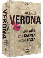 Album artwork for Arena di Verona: Verdi, Bizet, Puccini