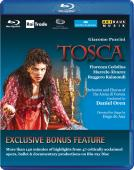 Album artwork for Puccini: Tosca + Blu-Ray Sampler
