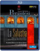 Album artwork for Pergolesi: LA SALUSTIA (BLURAY)