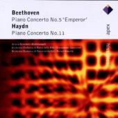 Album artwork for Ppiano Concertos by Beethoven & Haydn