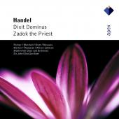 Album artwork for HANDEL: DIXIT DOMINUS, ZADOK THE PRIEST