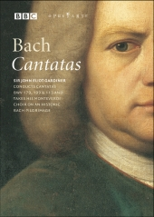 Album artwork for BACH CANTATAS