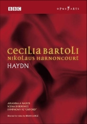 Album artwork for CECILIA BARTOLI / NIKOLAUS HARNONCOURT:  HAYDN