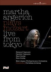 Album artwork for Martha Argerich: Plays Mozart Live from Tokyo