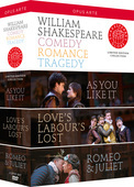 Album artwork for Shakespeare: Comedy, Romance, Tragedy
