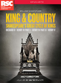 Album artwork for King and Country - Shakespeare's Great Cycle of Ki