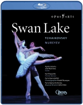 Album artwork for Tchaikovsky: Swan Lake (Blu-Ray)