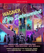 Album artwork for Wagner: DAS LIEBESVERBOT (BLURAY)
