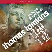 Album artwork for Tomkins: Anthems & Canticles