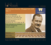 Album artwork for Dohnanyi & Brahms / Wuppertal Orchestra