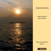Album artwork for Aspirations - Piano Music by Marcus Blunt / McLach