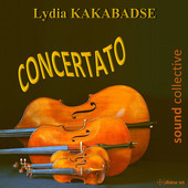 Album artwork for Lydia Kakabadse: Concertato