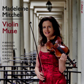 Album artwork for Violin Muse / Madeleine Mitchell