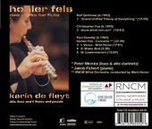 Album artwork for Hohler Fels: New Works for Flute