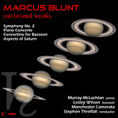 Album artwork for Marcus Blunt: Orchestral Works