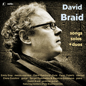 Album artwork for David Braid: Songs, Solos & Duos