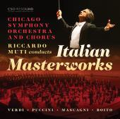 Album artwork for Riccardo Muti Conducts Italian Masterworks (Live)