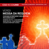 Album artwork for Verdi: Requiem / Muti, Chicago Symphony