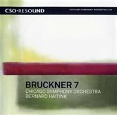 Album artwork for Bruckner: Symphony No 7 / Haitink, Chicago SO