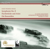Album artwork for Henze: Symphony No. 8, Nachtstucke und Arien
