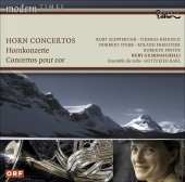 Album artwork for Nury Guarnaschelli: Horn Concertos