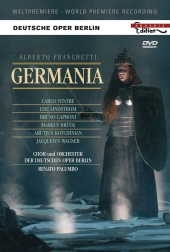 Album artwork for Franchetti: Germania (Palumbo)