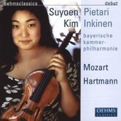 Album artwork for Mozart / Hartmann: Violin Works - Kim