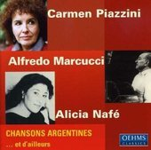 Album artwork for Piazzini / Marucci / Nafe: Chansons Argentines...