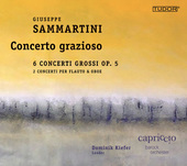Album artwork for Sammartini: 6 Concerti Grossi, Op. 5 & Other Works