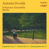 Album artwork for Dvorák: Bagatelles, Op. 47, Terzetto, Op. 74 & St