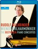 Album artwork for Beethoven: Piano Concertos 1-5 / Buchbinder