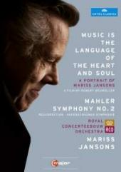 Album artwork for A Portrait of Mariss Jansons: Music is the Languag
