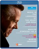 Album artwork for A Potrait of Mariss Jansons: Music is the Language