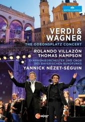 Album artwork for Verdi & Wagner / Villazon, Hampson, Nezet-Seguin