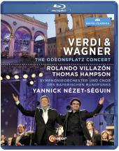 Album artwork for Verdi & Wagner / Villazon, Hampson (BluRay)