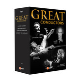 Album artwork for Great Conductors DVD box set