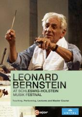 Album artwork for Leonard Bernstein at Schleswig-Holstein Musik Fest
