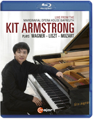 Album artwork for Kit Armstrong Plays Wagner, Liszt and Mozart