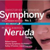 Album artwork for Theofanidis: Symphony #1, Lieberson: Neruda Songs