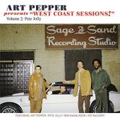Album artwork for Art Pepper West Coast Sessions vol. 2 - Pete Jolly