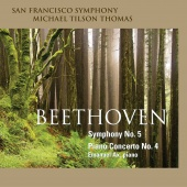 Album artwork for Beethoven: Symphony No. 5 / Tilson Thomas, Ax